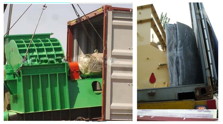 hammer mill machine before delivery