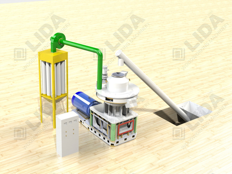 wood pellet production line ,palm pellet machine