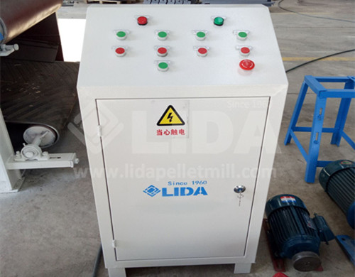 Electric cabinet of the crusher machine